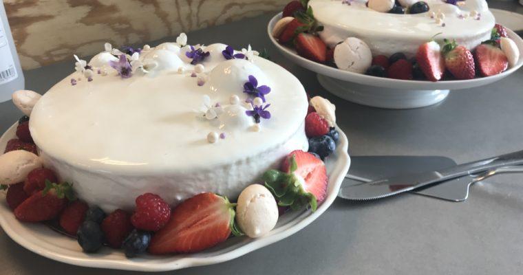 Sommerlig koldskåls cheesecake