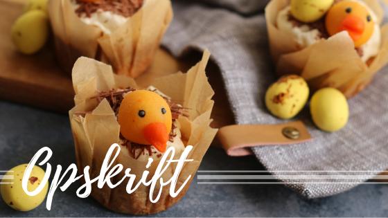 Gulerodsmuffins til påske – få vores opskrift her